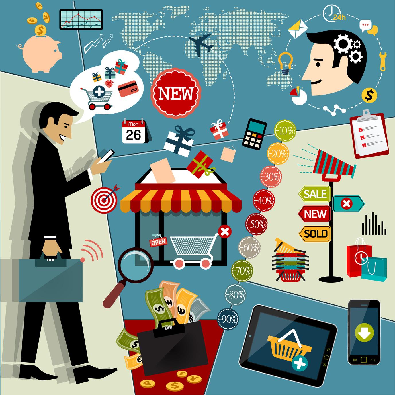 Viele Erfolgs-Variablen im eCommerce