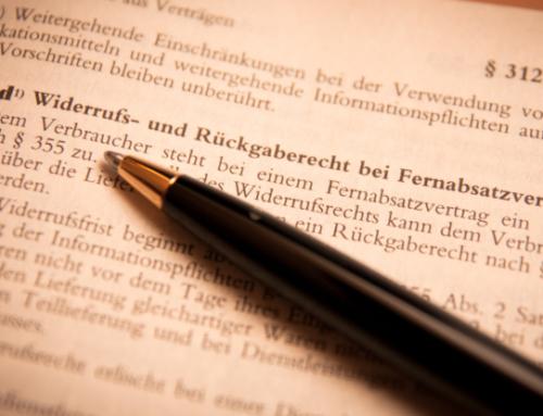 EU-Verbraucherrechterichtlinie (VRRL) 2014: Was tun?