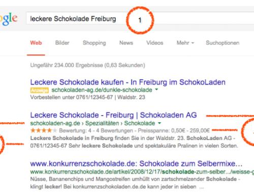 Rich Snippets beeinflussen Suchergebnisse